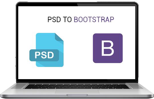 psd to bootstrap design development services vishwa infoways